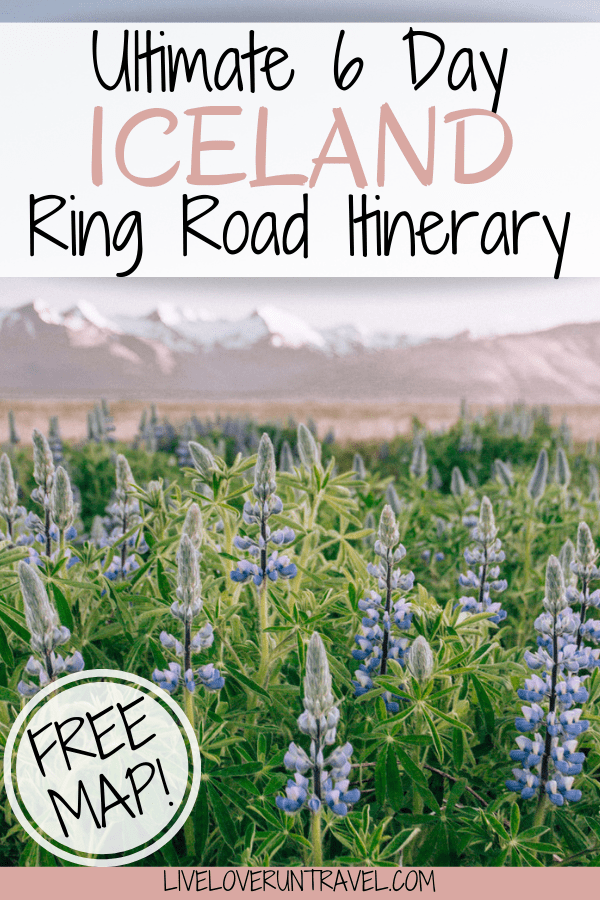 The perfect 6 day Iceland itinerary for a Ring Road road trip. #iceland | #ringroad | top things to do in Iceland | Iceland travel | Iceland itinerary | Iceland things to do in | Iceland travel summer | Iceland summer itinerary | 6 days in Iceland | one week in Iceland | Iceland one week itinerary | Iceland in 6 days | Iceland Ring Road itinerary | Iceland travel tips | Iceland travel guide | best photo locations in Iceland | what to do in Iceland | Iceland road trip itinerary