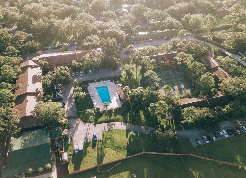 Lodge area at Westgate River Ranch in Florida