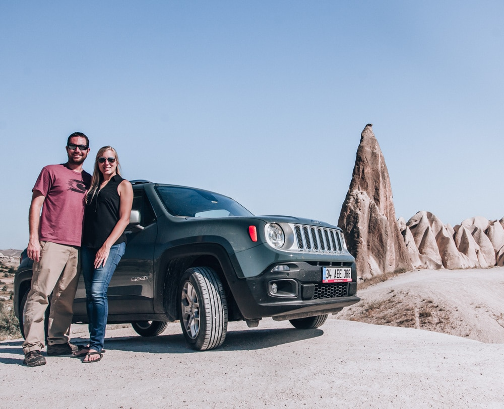 Renting a car was a good decision for Cappadocia. Click for a guide to Cappadocia's must see locations and most Instagramable places.