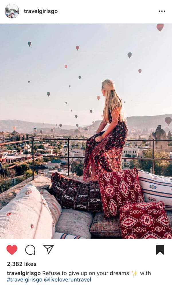 @Travelgirlsgo supports female travelers who are trying to grow their Instagram authentically. Find out how to get features and shout-outs on Instagram and if they help on my blog post.