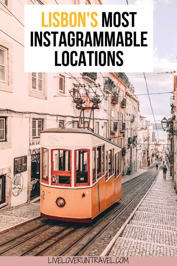 Click for the most Instagrammable places in Lisbon, Portugal including Lisbon travel tips and a free map! #lisbon #portugal #travel #travelguide #instagram #europe #lisboa #instagrammableplaces | Lisbon Instagram pictures | Lisbon Instagram spots | Lisbon in winter | Lisbon travel guide | Lisbon travel | Lisbon itinerary | Lisbon winter | things to do in Lisbon | Lisbon things to do in | Lisbon guide | Lisbon map | Lisbon photo ideas | where to take pictures Lisbon Portugal | Belem Portgual