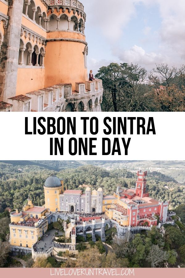 Pena Palace in Sintra, Portugal on a Lisbon to Sintra day trip