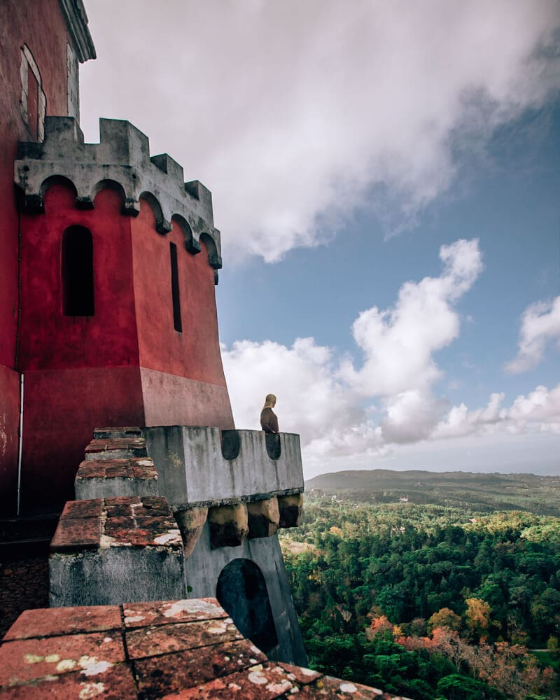 Pena Palace in Sintra, Portugal on a Sintra day trip