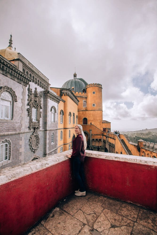 The many colors of Pena Palace