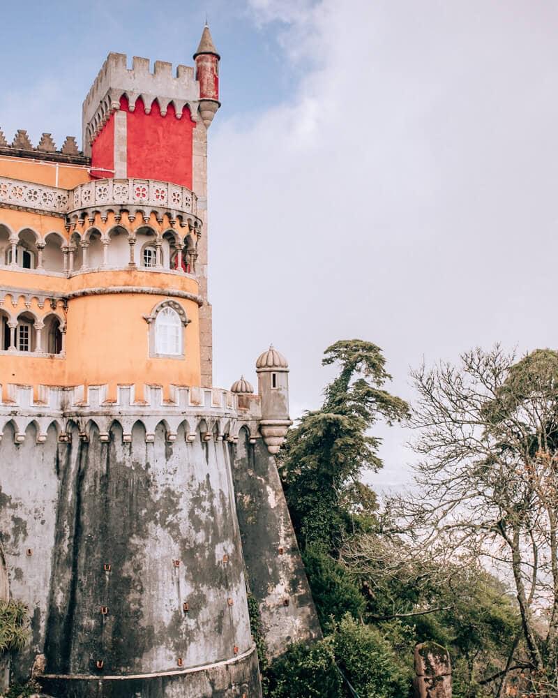 Pena Palace on a Lisbon to Sintra day trip