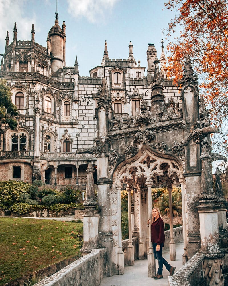 The gate and house at Quinta de Regaleira is a must when visiting Sintra for one day