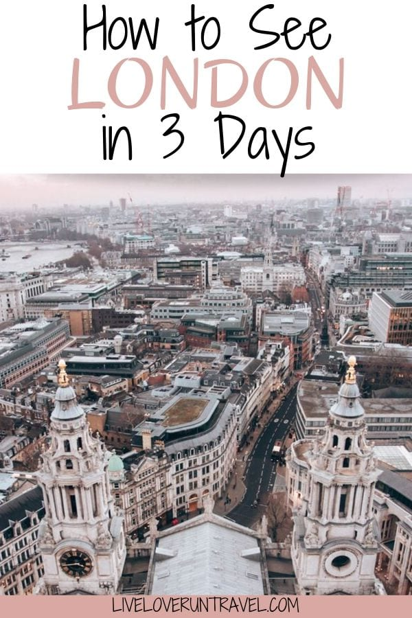 The perfect London 3 day itinerary including all the most Instagrammable places in London. #london #europe   London travel   London England winter   things to do in London   London in winter   3 day London itinerary   London in 3 days   weekend in London   London weekend itinerary   travel London   winter in London   London attractions   London in December   Christmas London   Europe winter travel   lovely London   London England things to do in   London itinerary 3 days   London photo spots