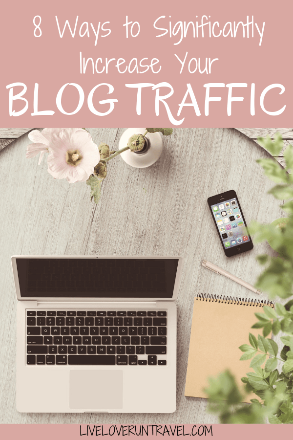 Looking to improve your blog traffic quickly? Here are 8 ways you can significantly increase your blog traffic.