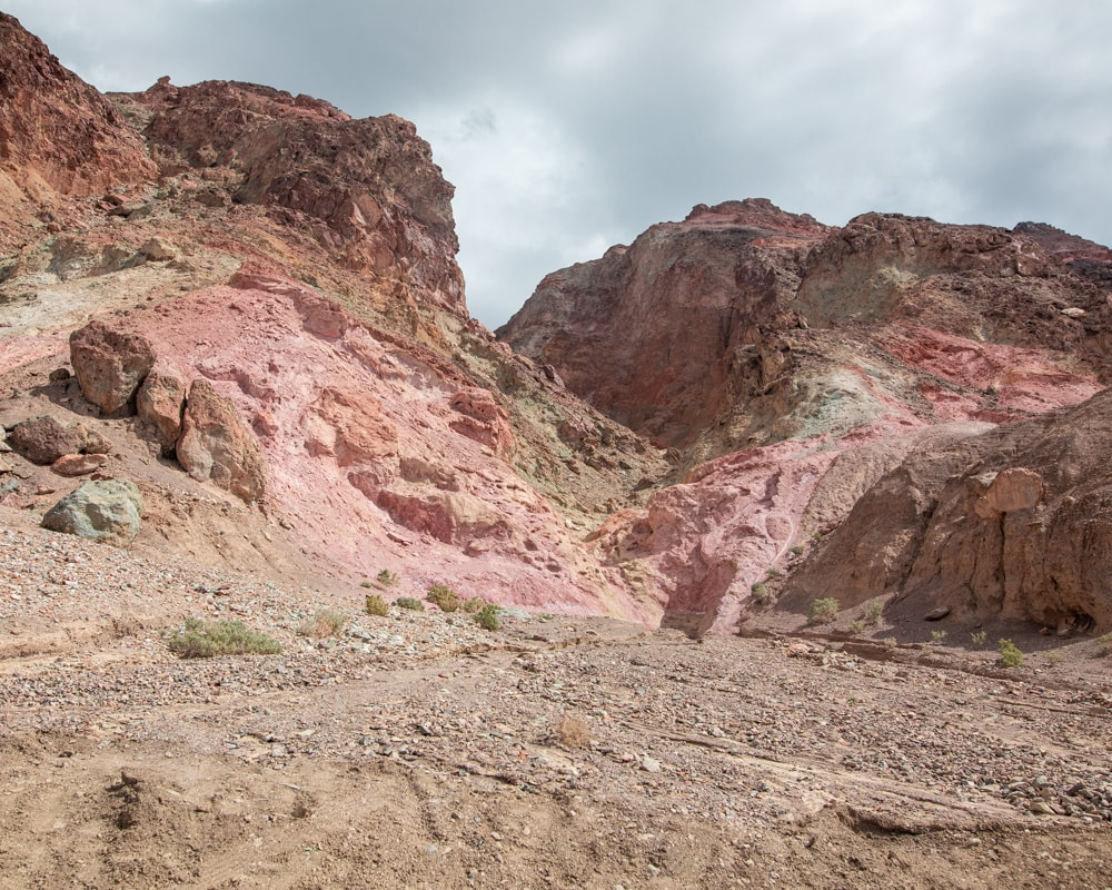 Artist's Drive in Death Valley National Park is a rainbow of colors thanks to metals and minerals. Find a full one day itinerary for Death Valley including where to stay, what to see and do, and when to visit.