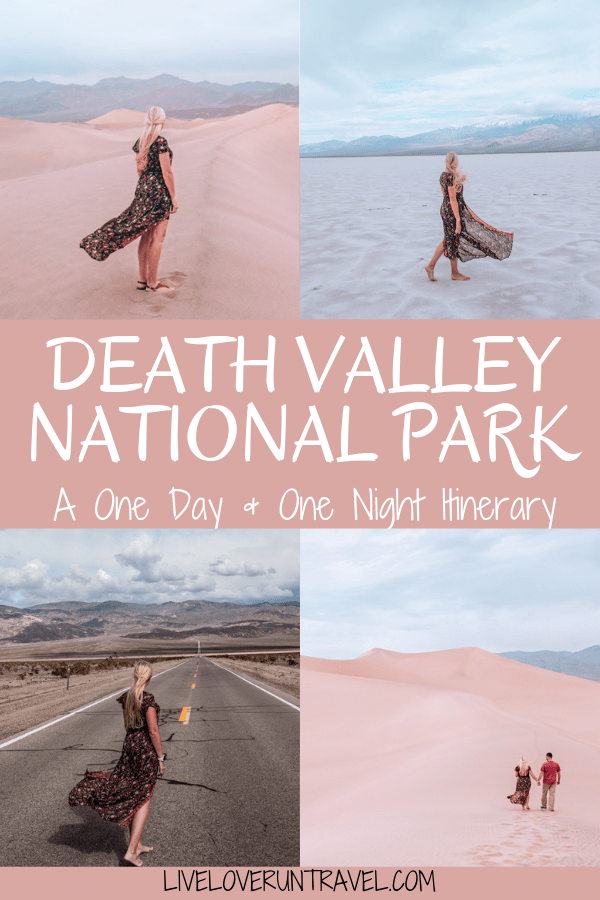 Find a full one day itinerary for Death Valley including where to stay, what to see and do, and when to visit.