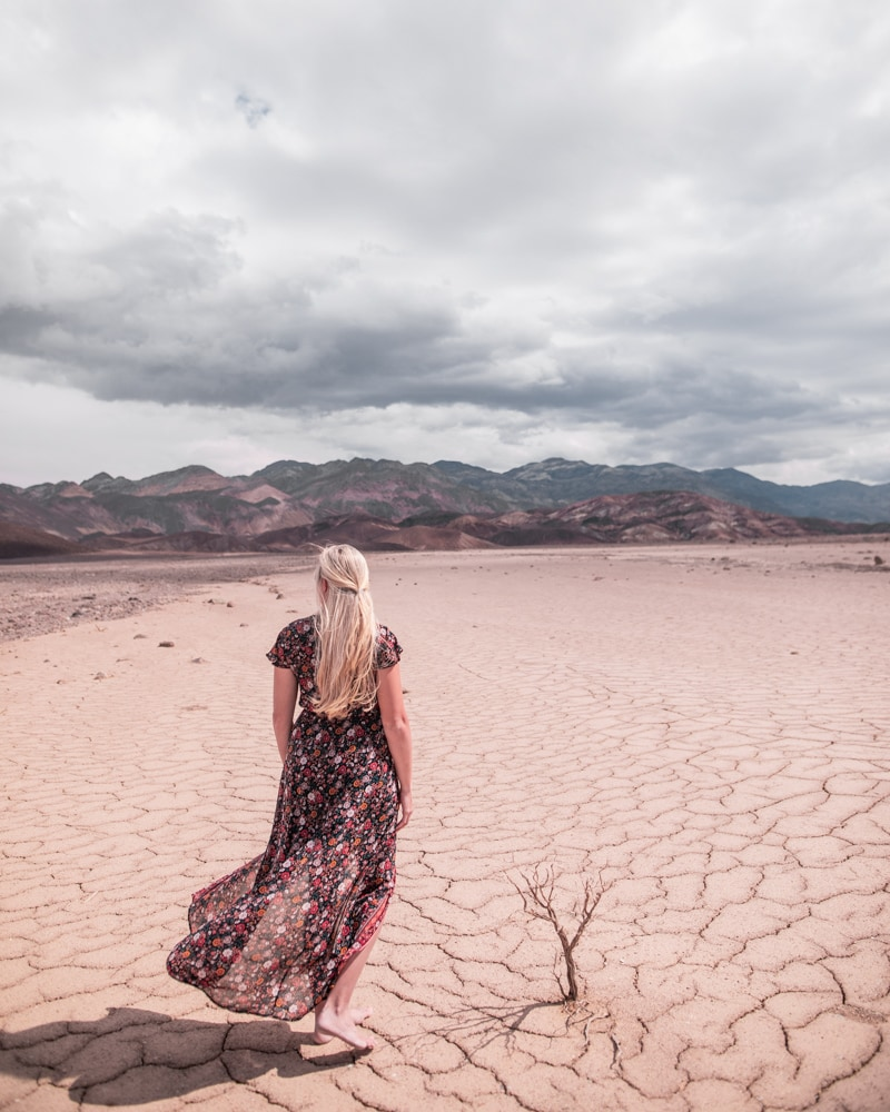 Taking in the views from Badwater Road in Death Valley National Park. Find a full one day itinerary for Death Valley including where to stay, what to see and do, and when to visit.
