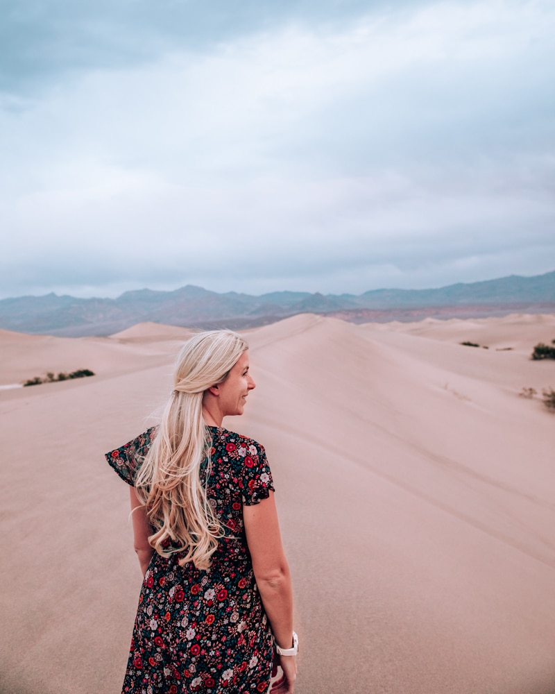 Hiking Mesquite Sand Dunes is one of the highlights of Death Valley. Find a full one day itinerary for Death Valley including where to stay, what to see and do, and when to visit.