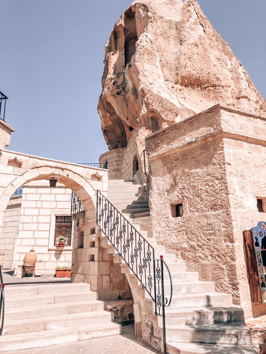 Cappadocia Cave Suites, a cave hotel in Goreme, Turkey.