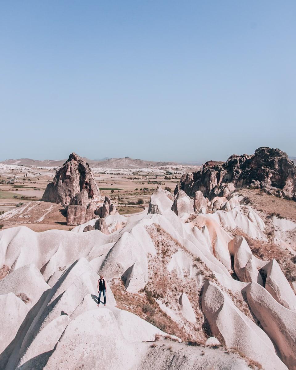 Rose Valley in Cappadocia.