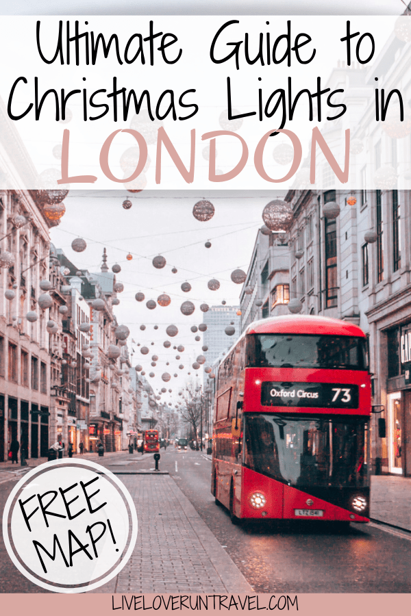 Click here for a guide to all the best Christmas lights for a perfect Christmas in London including a free map! #london   #christmas   London Christmas   Christmas in London   London at Christmas   London at Christmas time   London in winter   winter in London   London streets   best London Christmas lights   best Christmas lights in London   London things to do in   things to do in London   things to do in London in winter   things to do in London at Christmas   London travel guide