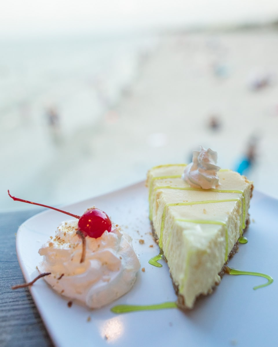 Key Lime Pie at Pelican's Bar and Grille on Westgate Cocoa Beach Pier