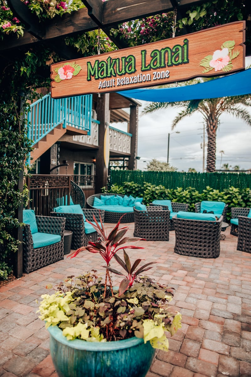 Makua Lanai Adult Relaxation Zone, part of Westgate Cocoa Beach Resort, is another reason this hotel is perfect for families.