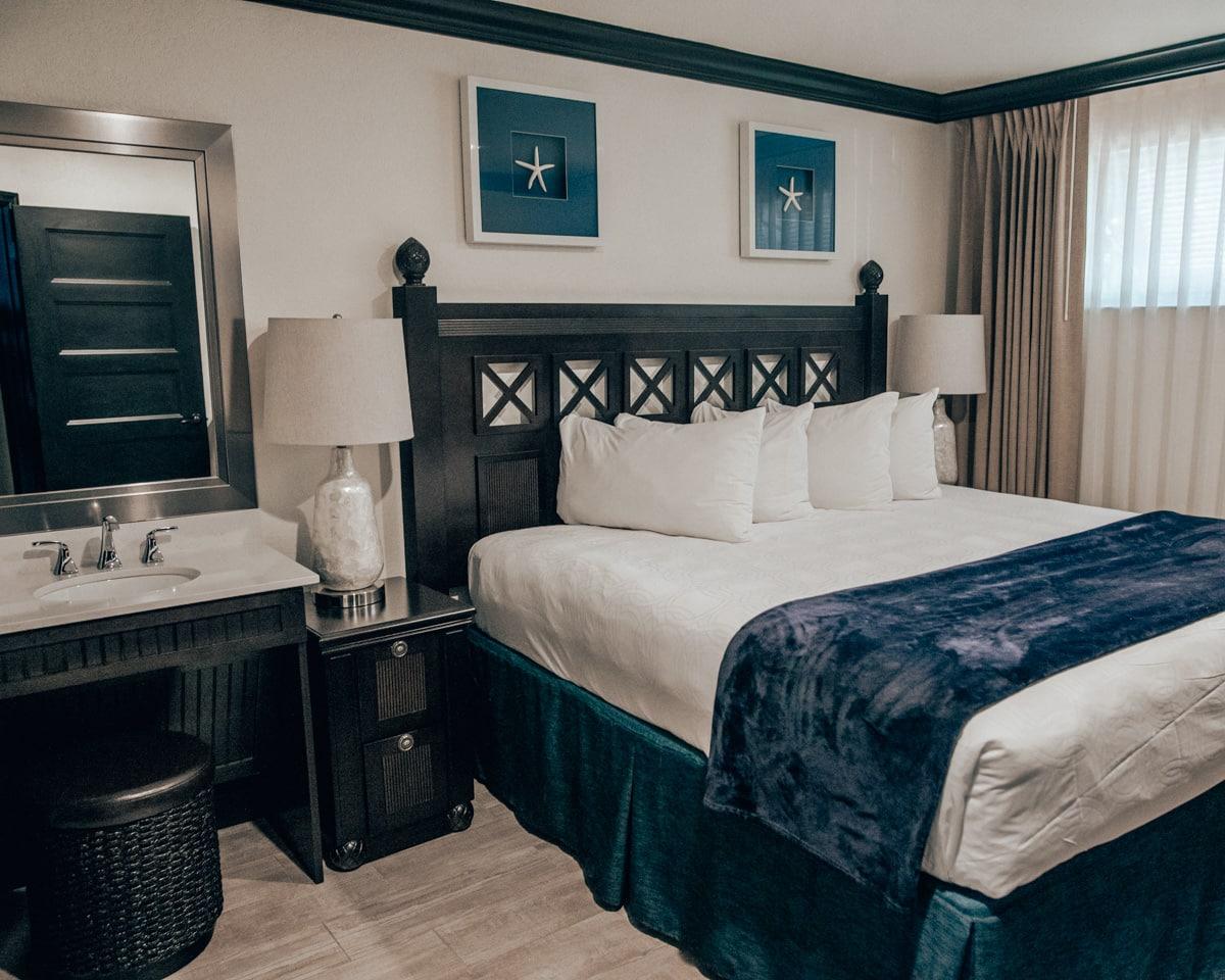 Master bedroom in Westgate Cocoa Beach Resort