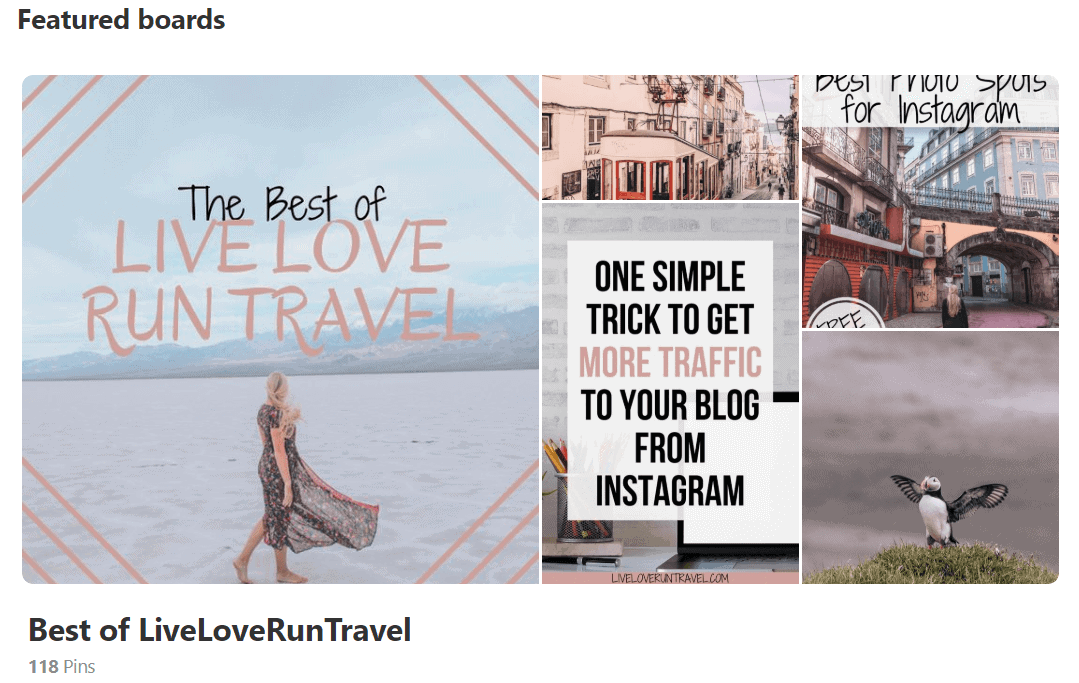 My Best of Board on Pinterest features my blog posts