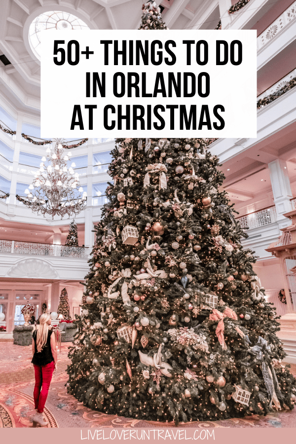 Click here for a local's guide to 40+ things to do in Orlando at Christmas. There is something for everyone on this list! #orlando #christmas #floridatravel   Christmas in Orlando   Orlando things to do in   Christmas events Orlando   Disney Christmas Orlando   Orlando Florida vacation   things to do in Orlando with kids   Orlando Florida secrets   Orlando Florida winter   Orlando Christmas vacation   Orlando Christmas lights   Orlando at Christmas   Christmas in Orlando Florida