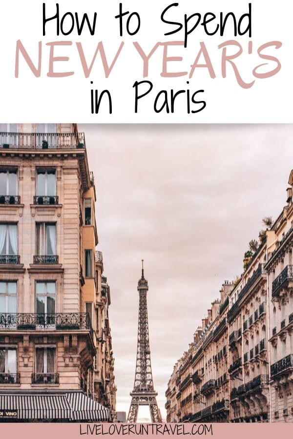 How to spend New Year's in Paris including where to see fireworks, things to do in Paris, the best hotels in Paris, and a how to plan around holiday hours. #paris #newyears #nye #france | New Year's in Paris | New Year's Eve in Paris | things to do in Paris on New Year's | New Year's in Paris guide | what to do in Paris | Paris on New Year's Eve | New Year's Eve parties Paris | hotels with Eiffel Tower view | Paris in winter | winter in Paris | instagrammable Paris | Eiffel Tower Paris