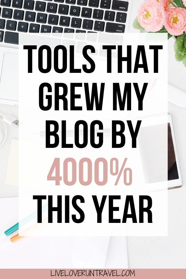 The 9 blogging tools every blogger needs. These blogging tools helped me grow my blog by 4000% in one year. #blogging #bloggingtips #blogtools #blogtips #bloggingtools   blogging tips   best blogging tools   best blog tools   free blog tools   beginner blogging tips   blogging tips for beginners   travel blog   blogging 101   how to blog   tips for blogging   best blogging tips   grow blog traffic   how to grow a blog   tools and resources for blogging   blog tutorials   how to start a blog