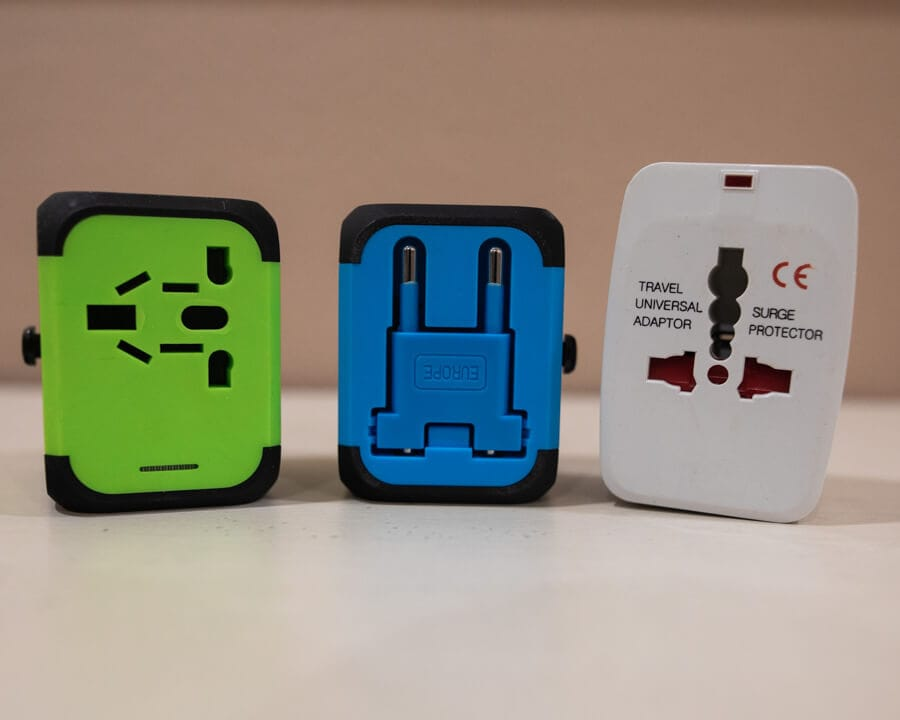 International travel adapters are a great travel gift idea