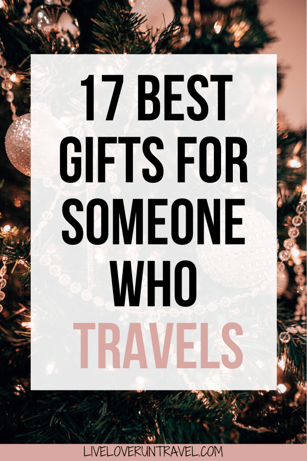 Looking for Christmas gift ideas for a traveler this year?Use this list of travel gift ideas for the traveler in your life. #travel #travelgifts #travelgiftguide #christmasgifts #giftguide   Christmas gifts for travelers   Birthday gifts for travelers   travel Christmas gifts   travel Birthday gifts   travel gifts for her   travel gifts for him   travel gifts for couples   travel gift ideas friends   travel gift ideas for women   travel gift ideas for backpackers   Christmas gift guide