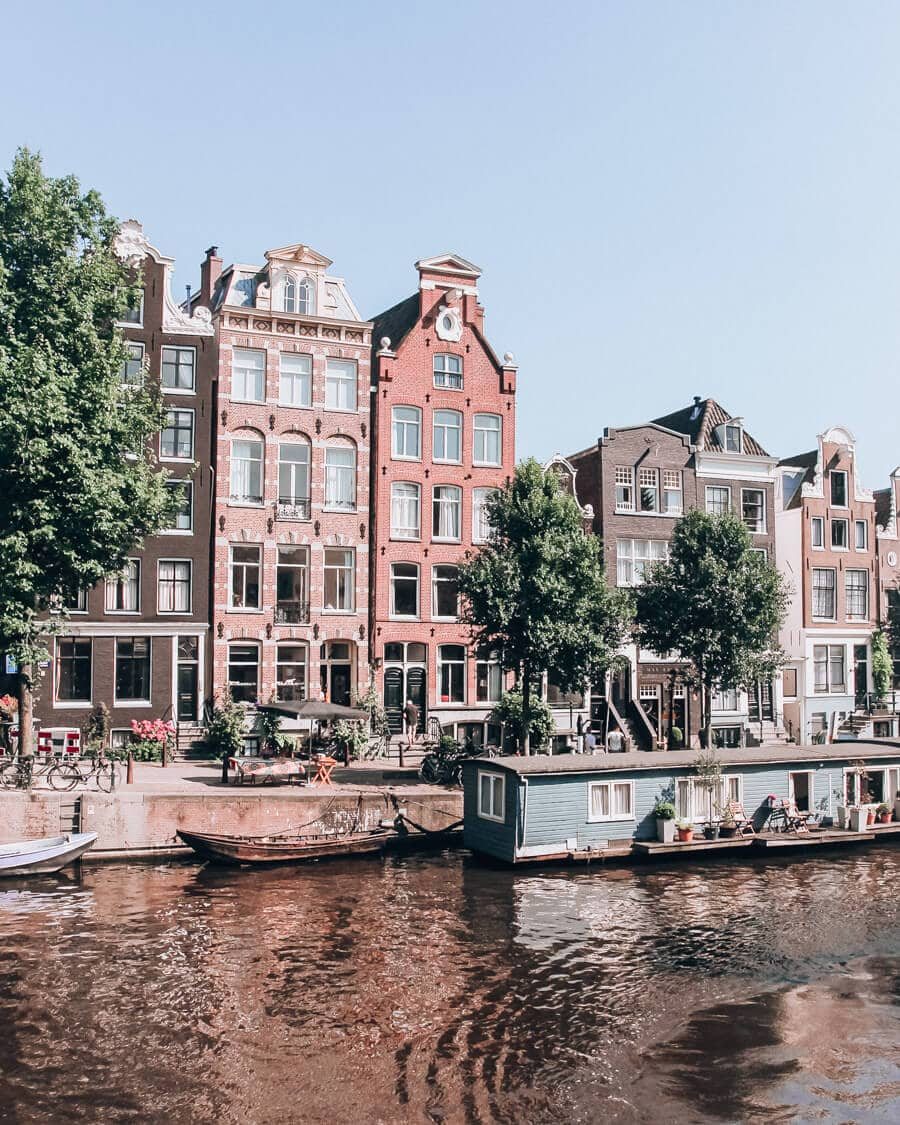 Amsterdam and the canals there should be on your travel bucket list for 2020