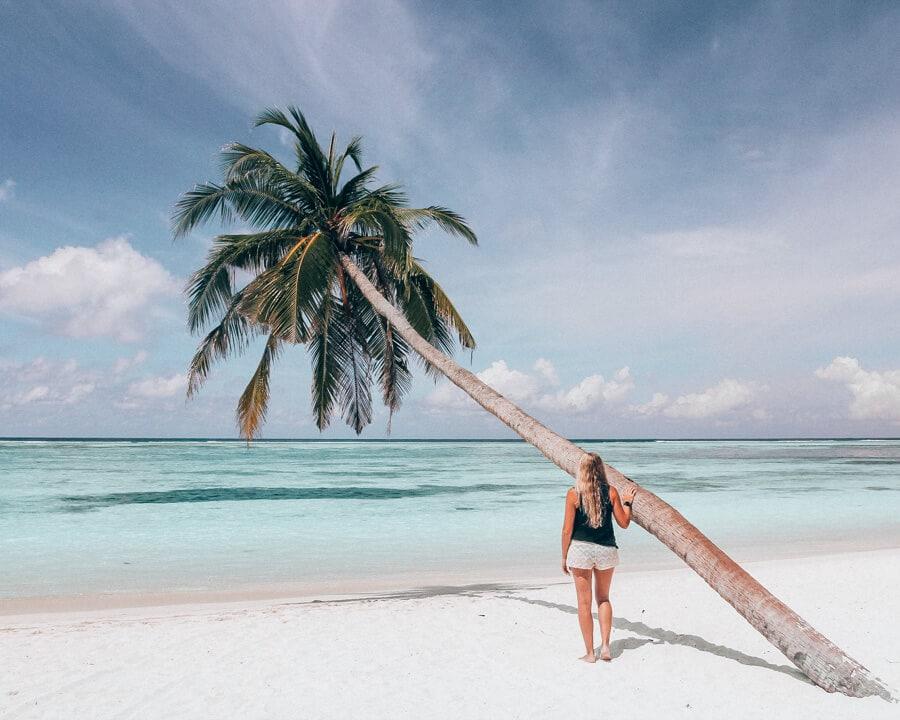 Meeru Island in the Maldives