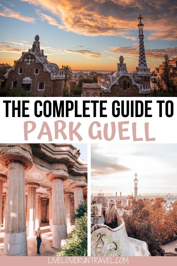 Find out how to get into Park Guell Barcelona free and what to see in Park Guell, one of the best things to do in Barcelona Spain.