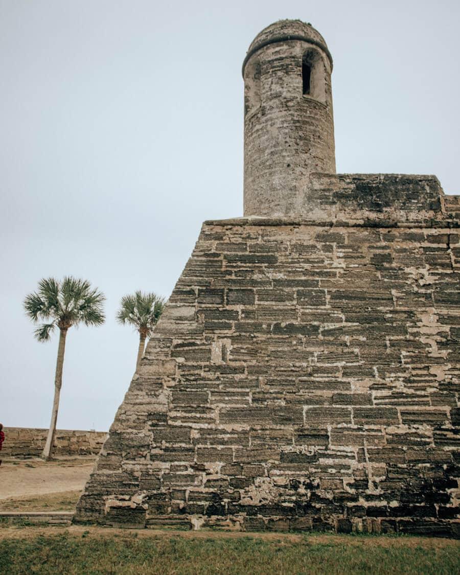 Castillo de San Marcos in St. Augustine Florida