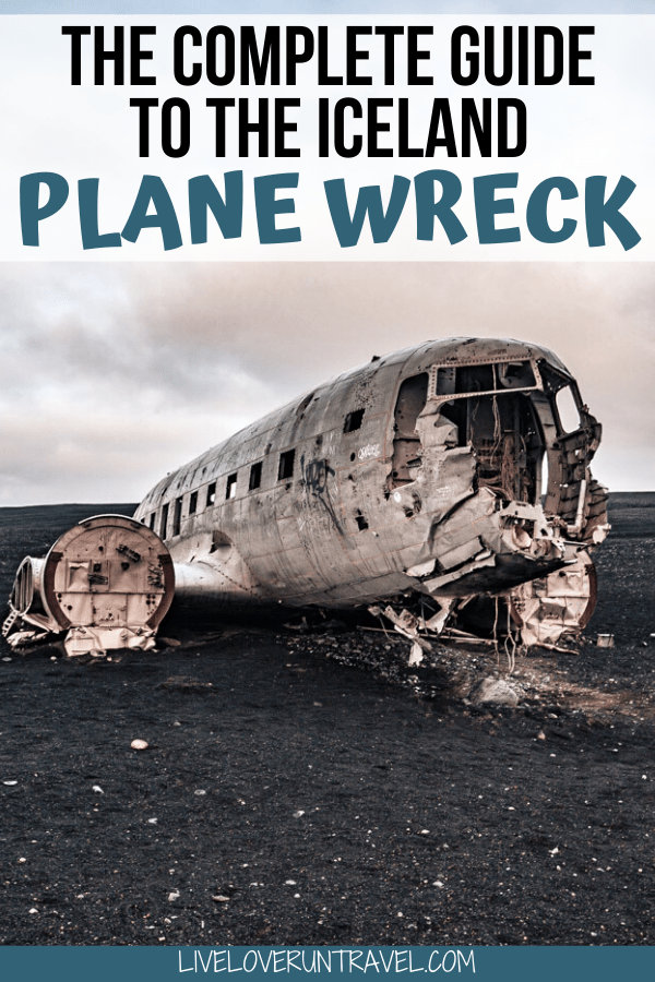 Click here for the ultimate guide to the Sólheimasandur plane wreck in Iceland including how to get there, what to expect, when to go, and what to wear. #iceland #travel #adventure #hiking | Iceland things to do in | Iceland plane wreck black sand | Iceland plane wreckage | Iceland plane crash photography | Iceland abandoned plane | Iceland hikes | Iceland things to do in summer | Iceland travel guide | Iceland travel tips | Iceland Instagram pictures | Iceland Instagram photo spots