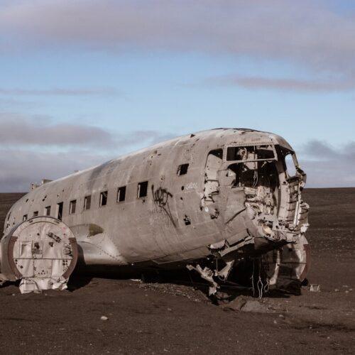 Hiking to the Sólheimasandur Plane Wreck in Iceland