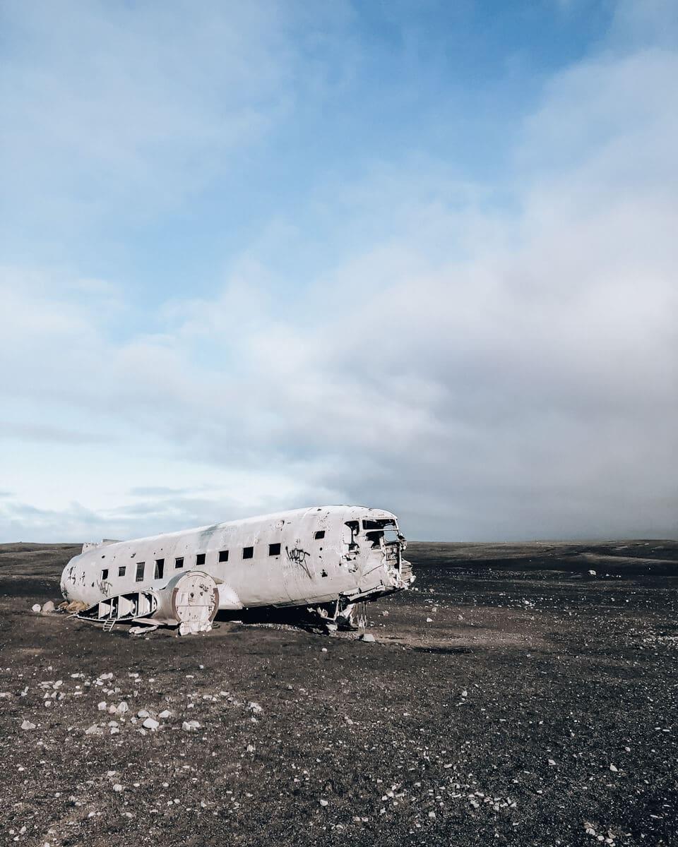 The Sólheimasandur Iceland plane crash