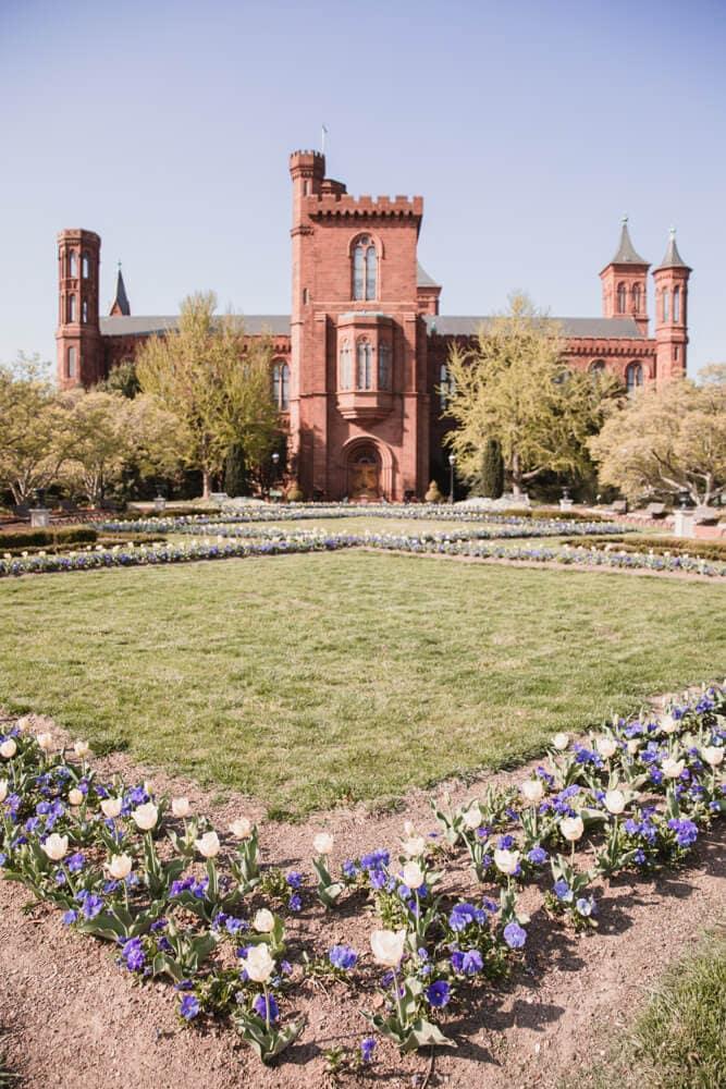 Enid A Haupt Gardens in Washington DC