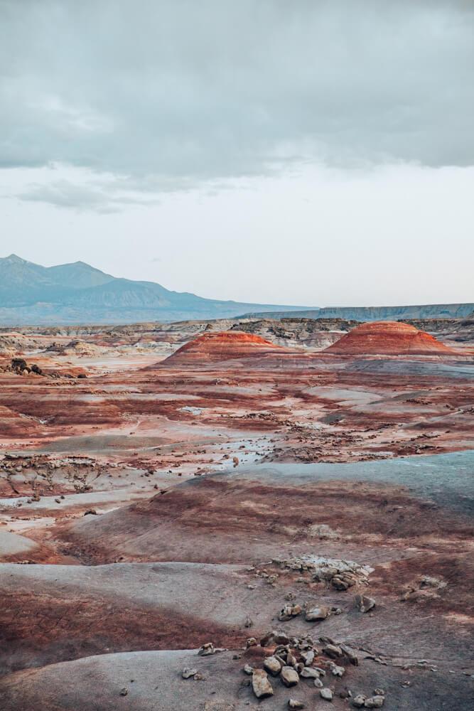 Desert near Mars Desert Research Station in Utah