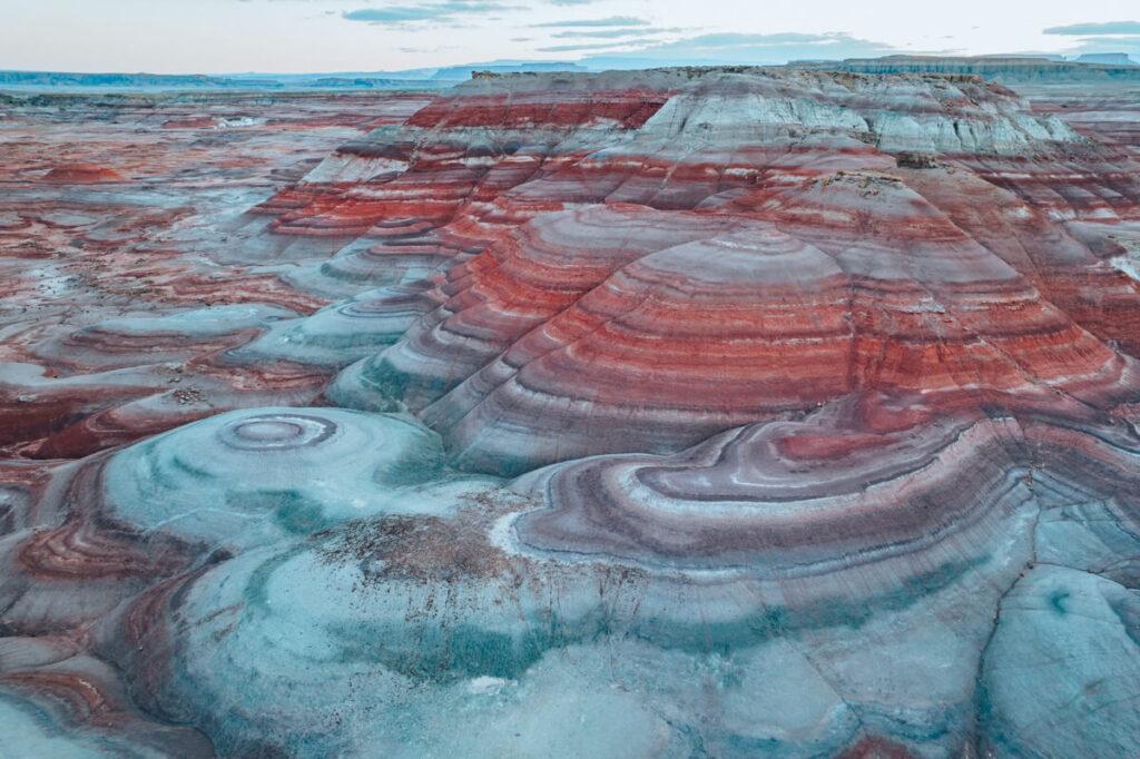 Bentonite Hills Utah