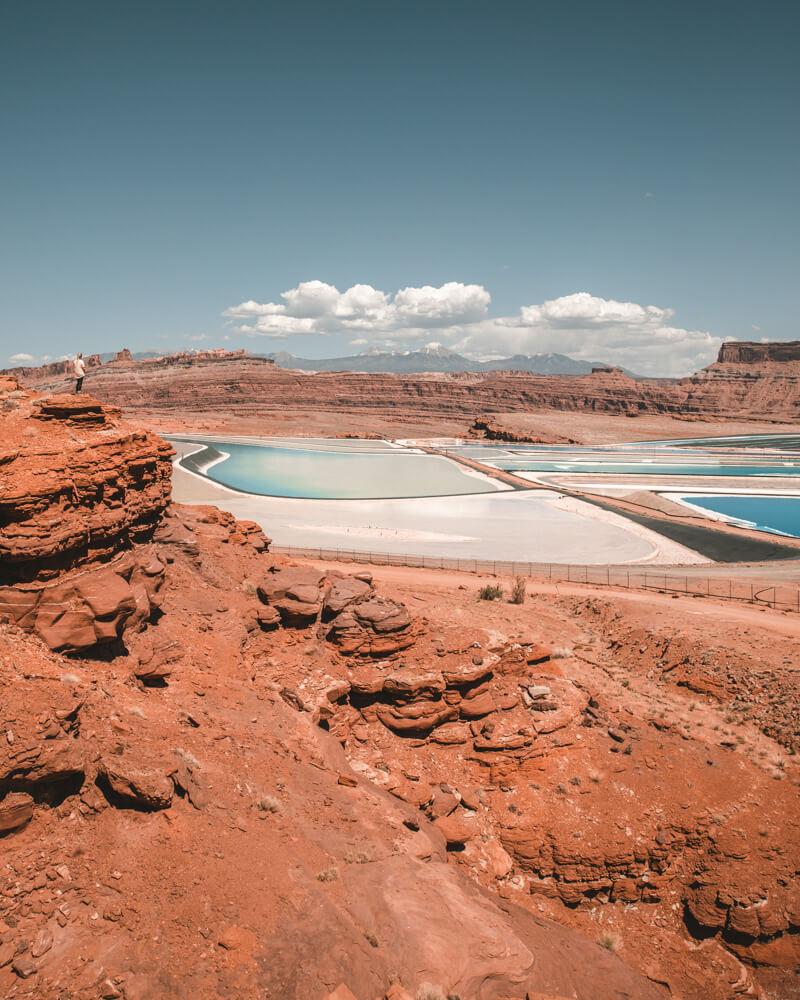 moab utah potash ponds