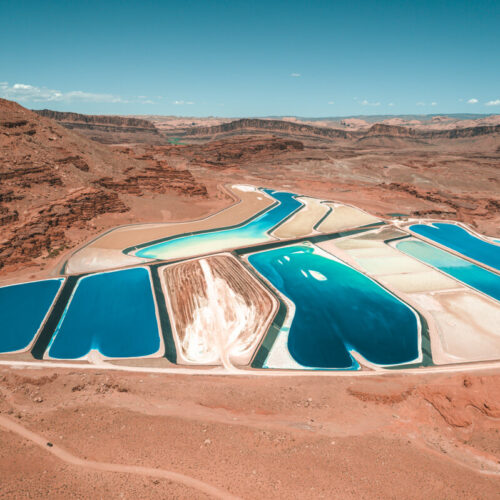 How to See the Moab Potash Ponds: The Blue Pools in Moab