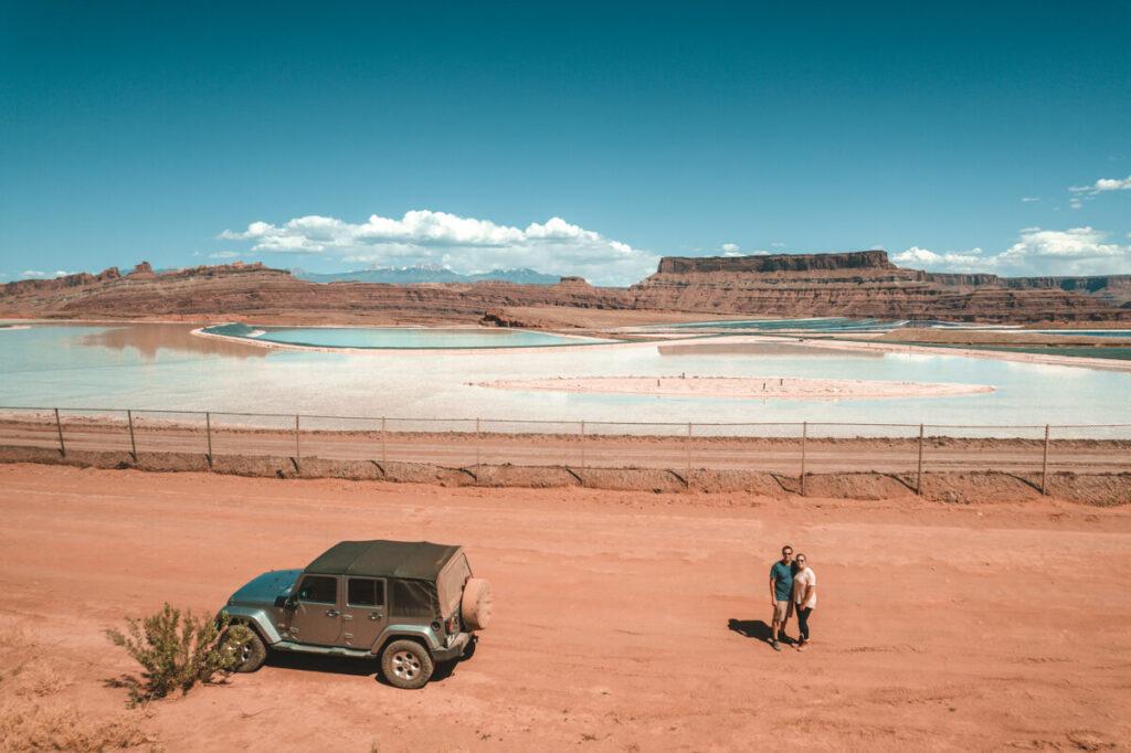 potash evaporation ponds moab utah