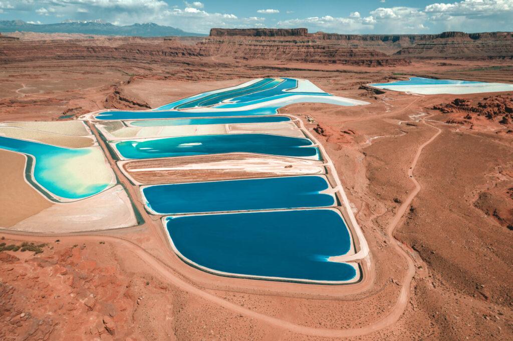 potash ponds in moab
