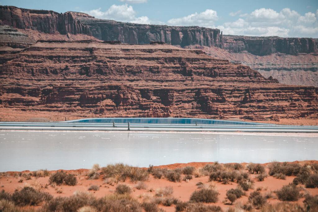blue pools in moab utah