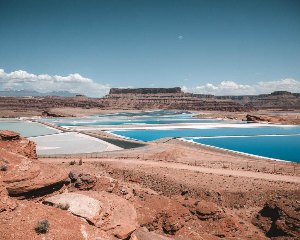 potash ponds - moab utah